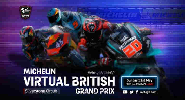 Live Streaming MotoGP Virtual Race